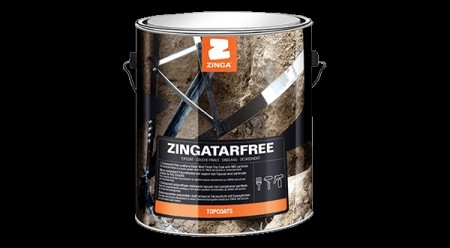 Zingatarfree MIO PU 1 liter  -   sort matt