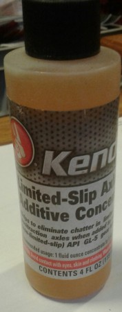 Kendall Limited slip gear addetive