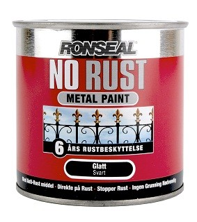 NO RUST HAMRET FINISH – Svart  750 ml